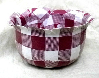 Spring Gift. Holidays. Recycled. Ecofriendly. Paris. Paper Bowl BISTROT