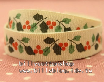 V159 - cotton tape/ sewing tape/ Ribbon - cotton - flowers