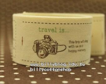 V370 - cotton tape/ sewing tape/ Ribbon - cotton - travel