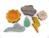 Weather Set - Montessori - Summer - Nature Table Toy