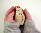 Cat Toy - Wood Toy - Organic Toy - Eco Friendly Toy