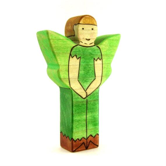 Boy Fairy Toy - Waldorf Toy - Handmade Toy - Wooden Toy