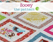 NEW Zooey - PDF Quilt Pattern in 3 sizes.
