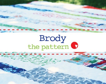 Brody a PDF Quilt Pattern