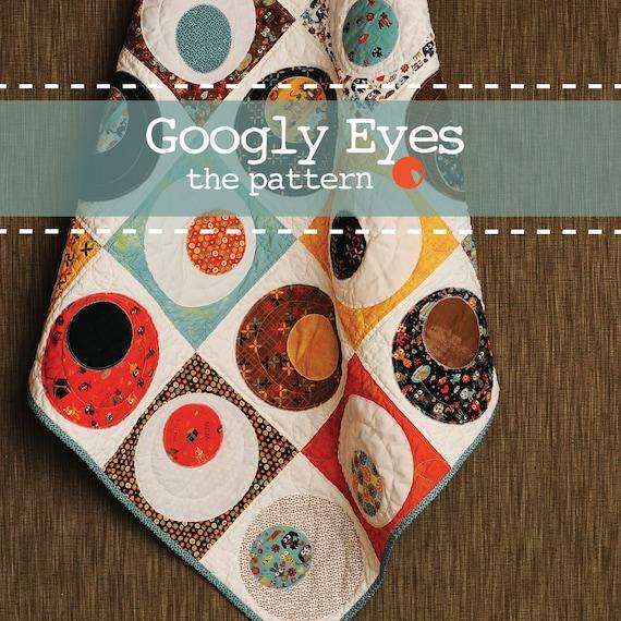 Googly Eyes - PDF Quilt Pattern