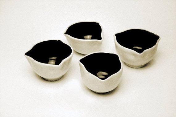 Small Porcelain Spice Bowls