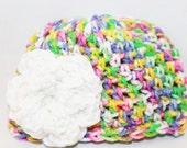 Newborn Flower Hat - Infant Flower Hat- Baby Flower Beanie - Crochet Baby Hat Flower