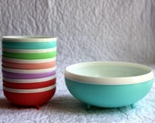 Vintage Bolero Therm-O-Ware Insulated Plastic Bowls