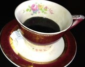 Your Grandmother's Coffe Cup, Personal Keepsake, Customized Cup for a Loved One That Never Empties