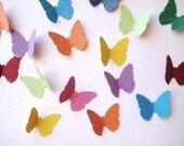 100 Glittered Butterfly punch die cut embellishments noE338