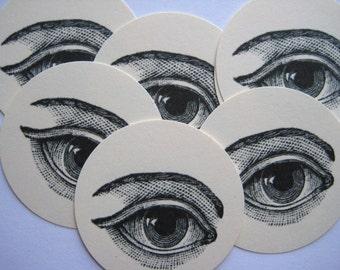 12 Eye Tags E856