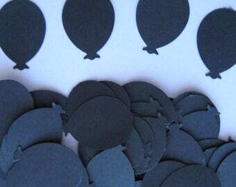 100 Black Balloon punch die cut embellishments E1152