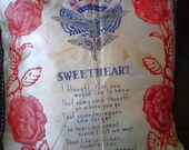 World War 2 US Air Forces Sweetheart Pillow WWII TREASURY Item 4 Treasuries Sale