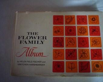 Vintage Flower Family Book 1941 Helen Field Fischer and Gretchen Harshbarger