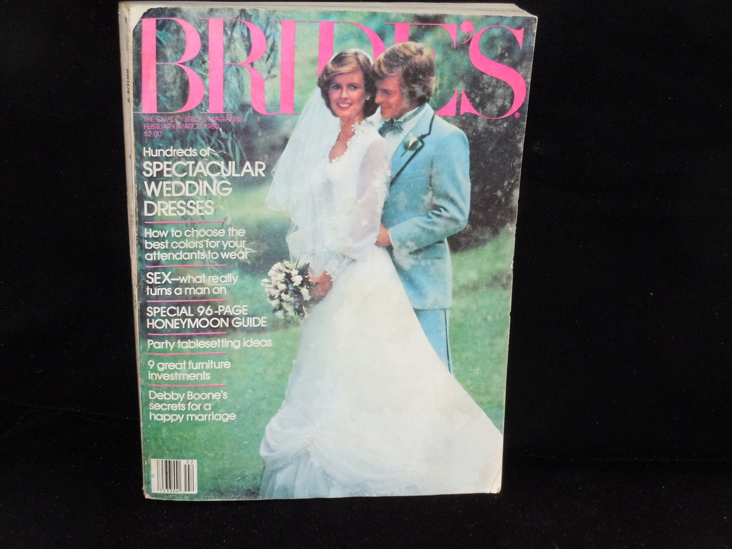 Vintage Brides Magazines 1980 And 1983