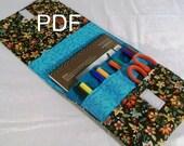 Quiet Pencil Case Pattern - PDF