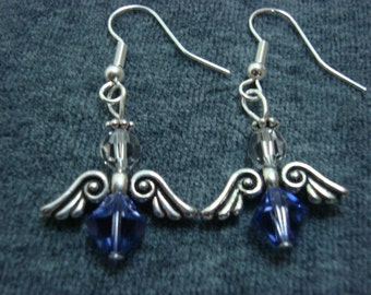 Angel Earrings Tanzanite