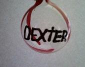 Dexter Ornament