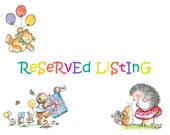 Reserved Listing For jeswil
