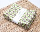 SALE - Eco-Friendly Large Cloth Napkins - Set of 4 - (N418)