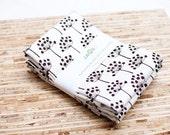 Eco-Friendly Large Cloth Napkins - Set of 4 - (N432)