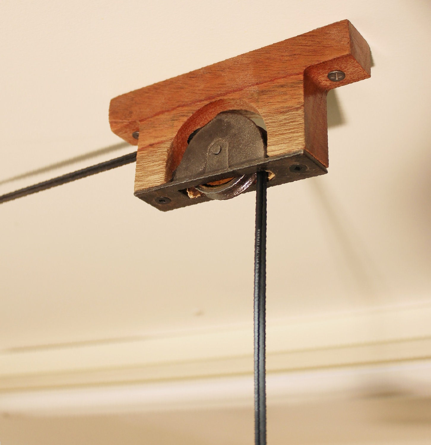 Mounting Pulleys For Chandelier Or Hanging Lamp