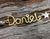 Personalized Wired Names Key Chain (Your Name - max. 8 letters)