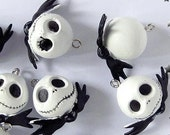 Jack Skellington Plastic Charm READY to SHIP