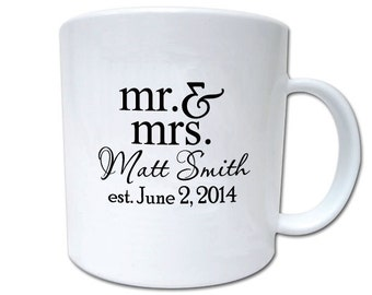 100 Wedding Favors Custom Personalized 11oz Plastic Mugs