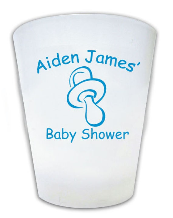 Baby Shower Favors Glasses ~ Personalized baby shower shot glass favors it s a by