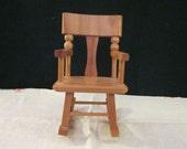 Vintage Strombecker Doll Rocking Chair