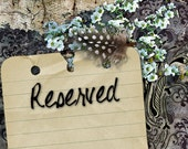 Reserved for Akiko