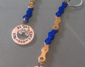 Personalized Bicycle Chain Key Chain