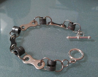 Bike Chain Ladies Link Bracelet - LBLINK02