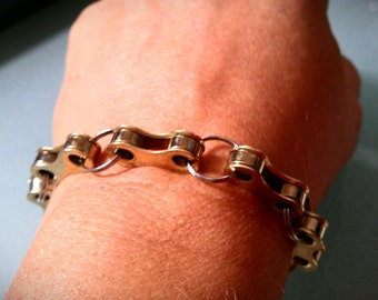 Bicycle Chain Link Bracelet - upto 10 inches - BCPIEC01