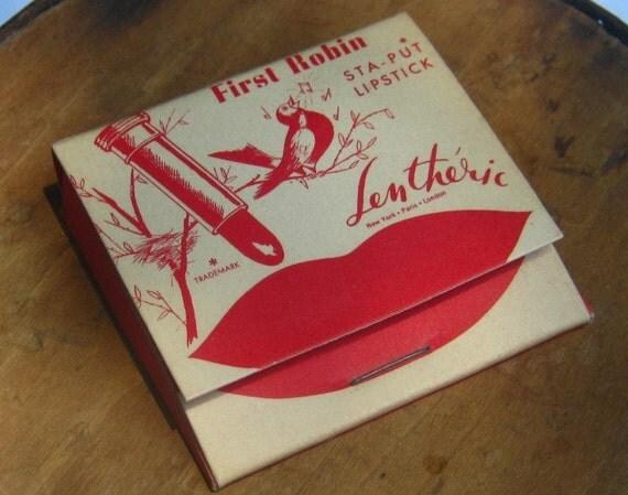 Vintage Lipstick Lentheric