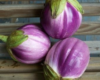 Rosa Bianca Italian Eggplant
