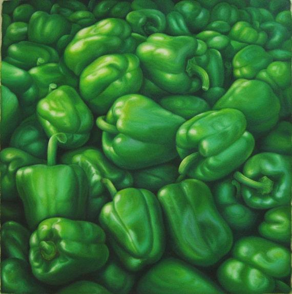 Green Goddess Sweet Pepper