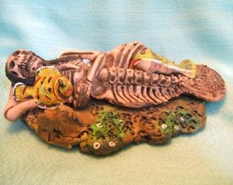 Macabre Mermaid created by Demetrio Garcia Aguilar