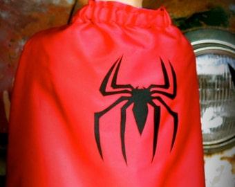Super Hero Cape - Spiderman cape SMALL