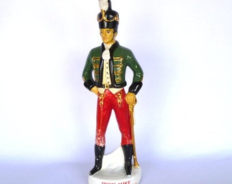 VINTAGE SOLDIER Liquer DECANTER