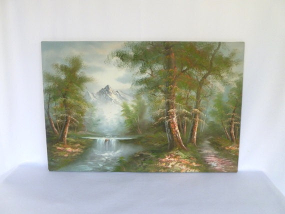 Winter Landscape Oil Paintings