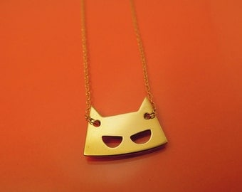 Mask necklace / collier Masque