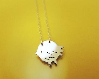 Little Chick necklace / collier Petit Poussin