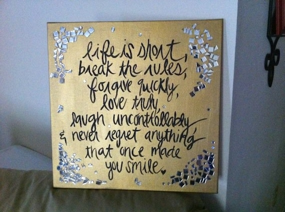 Custom Quote Painting 18x18 or 20x20