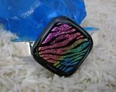 Colorful Zebra Rainbow Bracelet