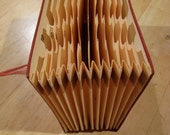 Vintage Red Accordion Check File
