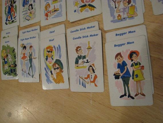Vintage Richie Card Game - 32 cards