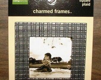 Making Memories Charmed Frames Square Plaid
