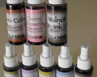 Walnut Ink Antiquing Solution 2 oz Spray Bottle